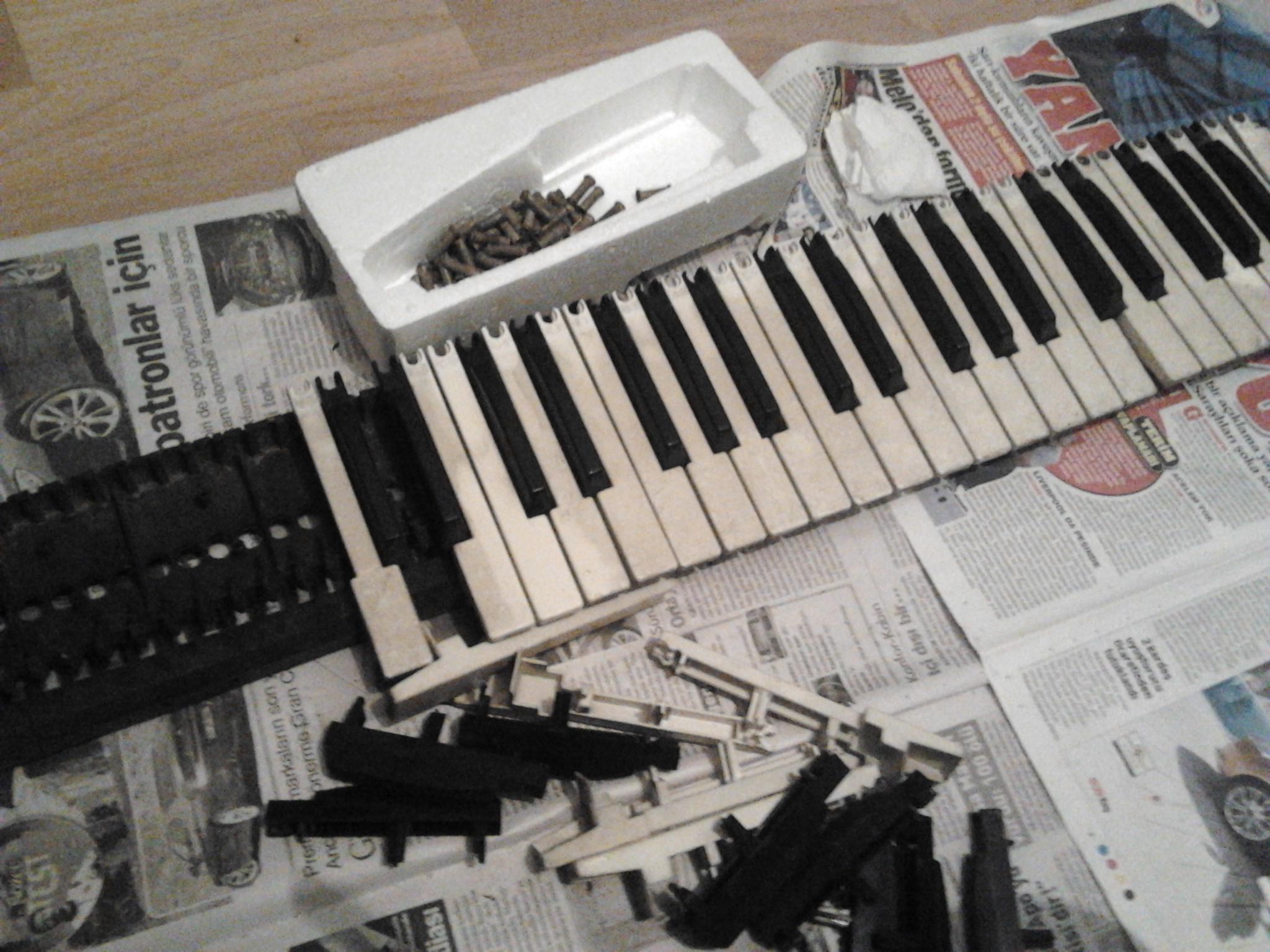 diy midi keyboard - DIY Campbellandkellarteam